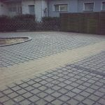 Parkplatzbereich