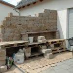 Mauer-Pflasterarbeiten